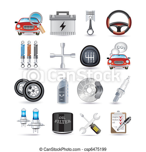 Car parts and service.
