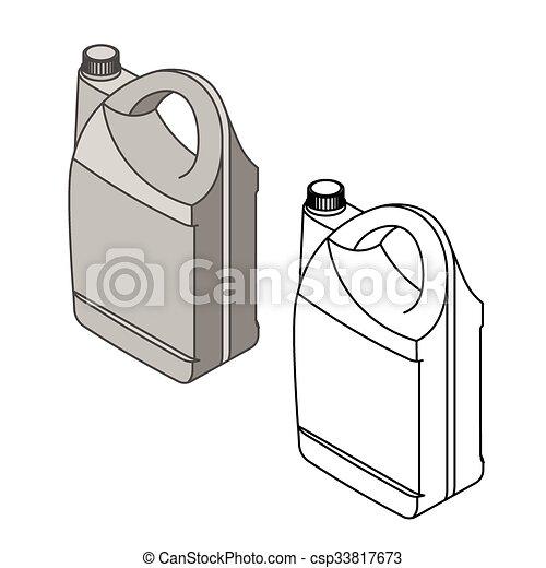 Car parts icons isometric - csp33817673