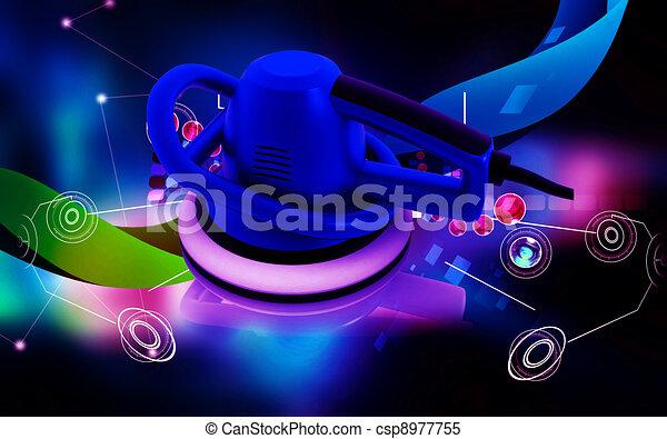 Car polisher  - csp8977755