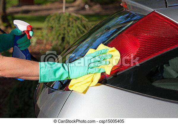 Car polishing - csp15005405