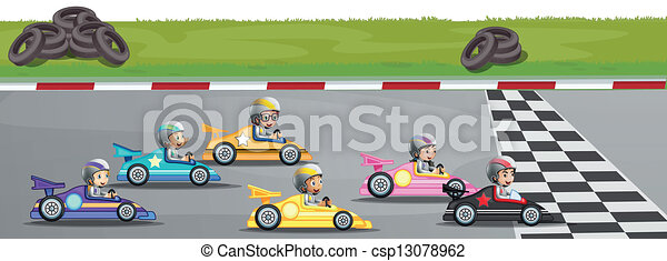 Illustration of a car ...