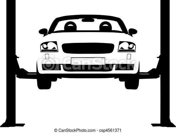 Car Ramp - csp4561371