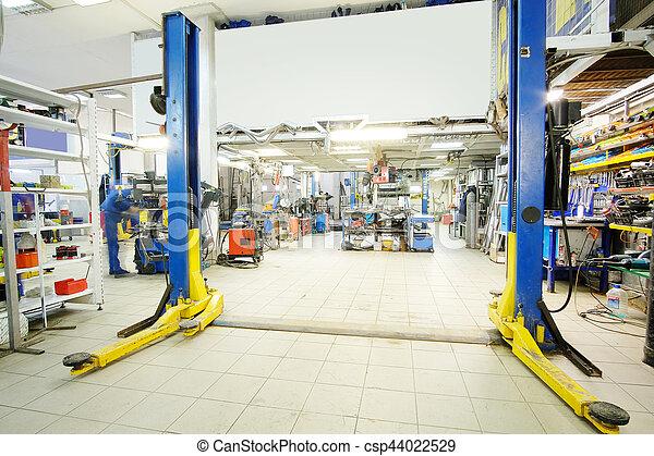 car repair station - csp44022529