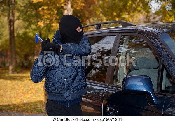 Car robbery - csp19071284
