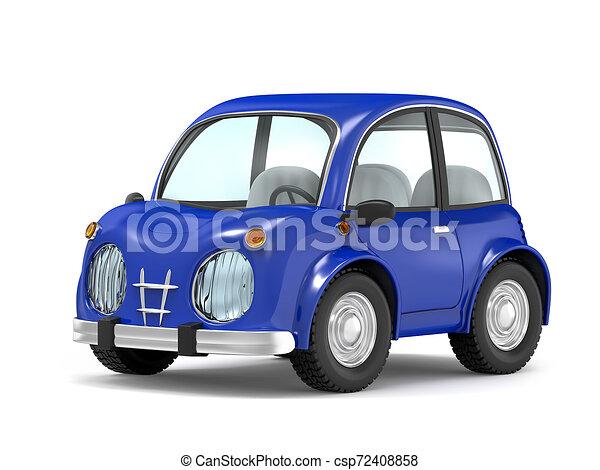car small cartoon - csp72408858