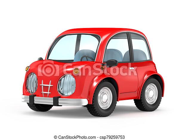 car small cartoon - csp79259753