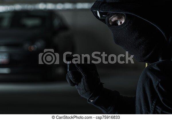 Car Stealing Concept - csp75916833