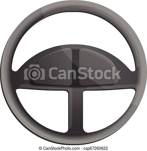 car steering wheel icon cartoon style car steering wheel icon cartoon of car steering wheel vector icon for web design can stock photo