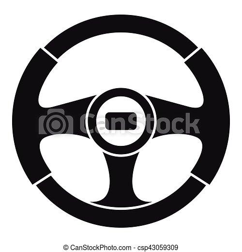 car steering wheel icon simple style car steering wheel icon rh canstockphoto com free ship steering wheel clip art steering wheel clip art free