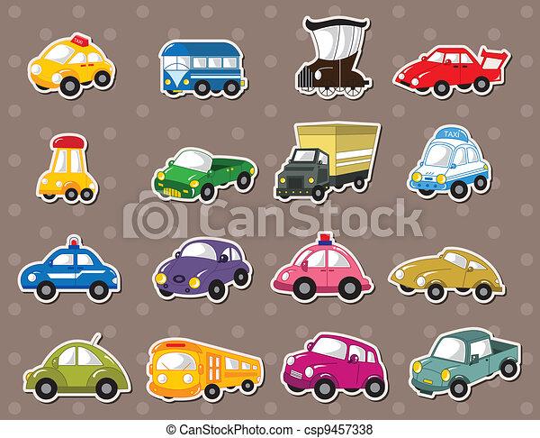 car stickers - csp9457338