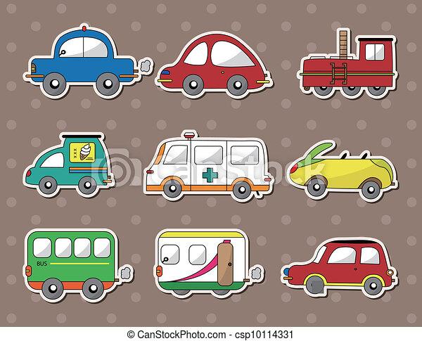 car stickers - csp10114331