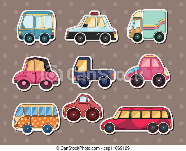 car stickers - csp11069129