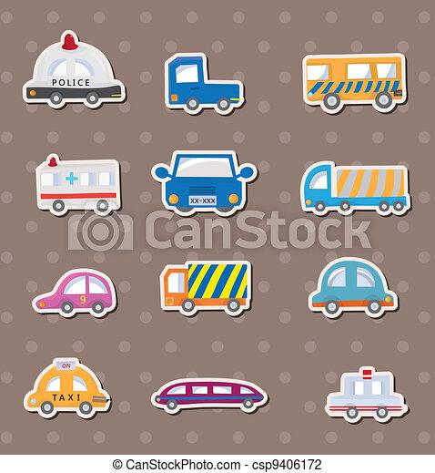 car stickers - csp9406172