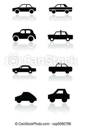 Car symbol vector set. - csp5080796