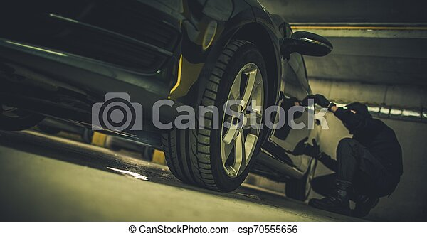 Car Theft Concept - csp70555656