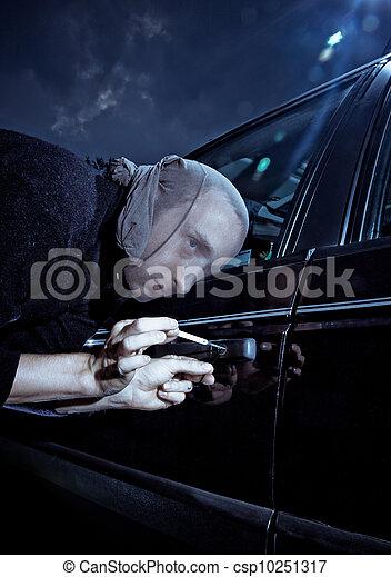 Car Thief - csp10251317