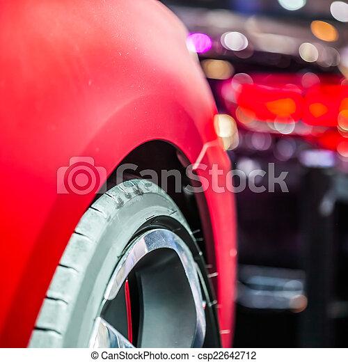 car tire - csp22642712