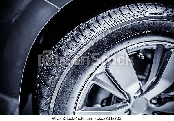 car tire - csp22642703
