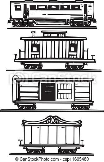 car, trem, cobrança - csp11605480