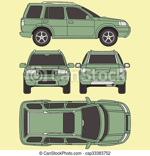 Car truck suv 4x4 line draw rent damage condition clipart car truck suv 4x4 line draw rent damage condition report form malvernweather Image collections