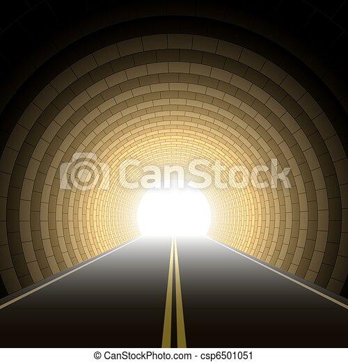 Car tunnel - csp6501051