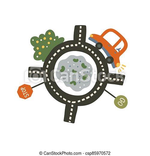 Car vector illustration - csp85970572
