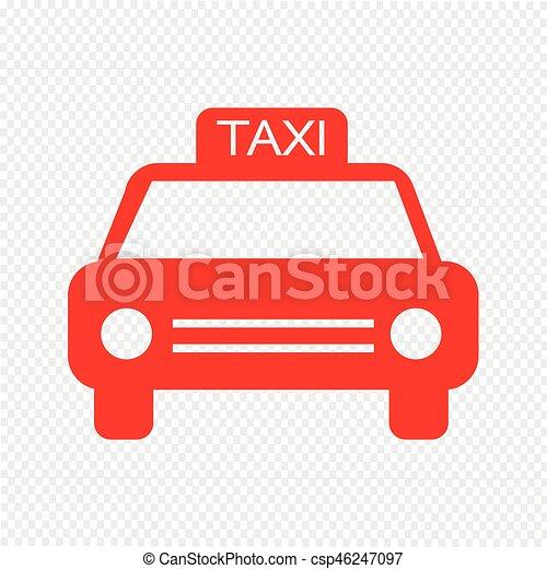 car, vetorial, ilustração, ícone - csp46247097
