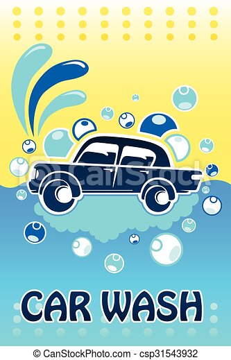 Car Wash Banner - csp31543932