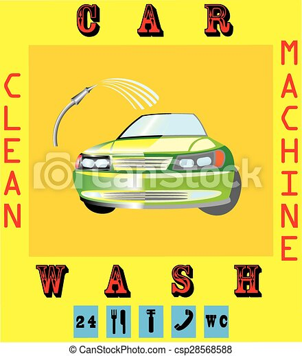 Car wash - csp28568588
