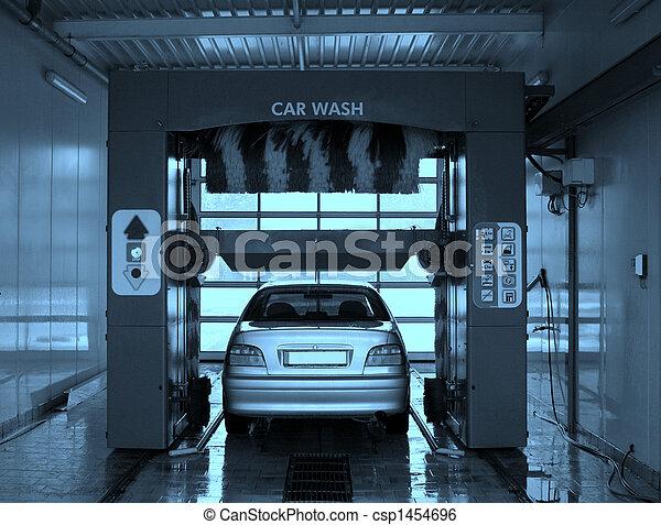 Car wash. - csp1454696
