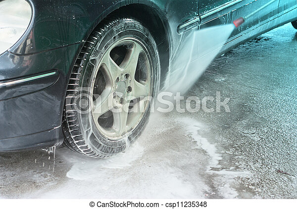 car wash - csp11235348