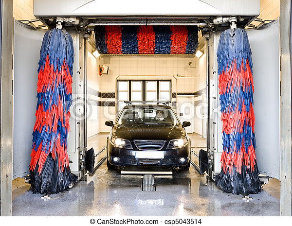 Car wash - csp5043514
