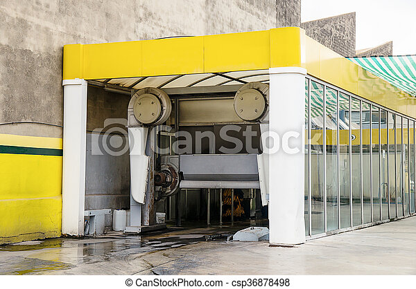 car wash - csp36878498