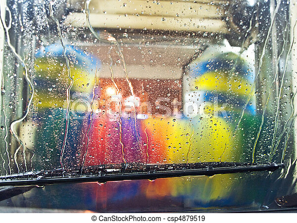 Car-wash - csp4879519