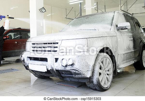 car wash - csp15915303