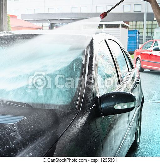 car wash - csp11235331