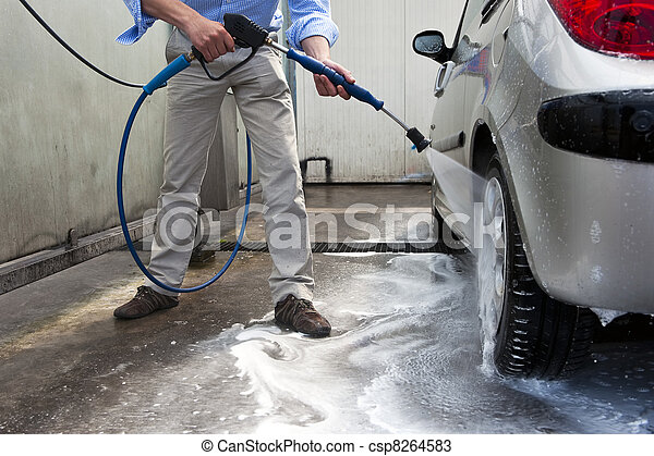 Car wash - csp8264583