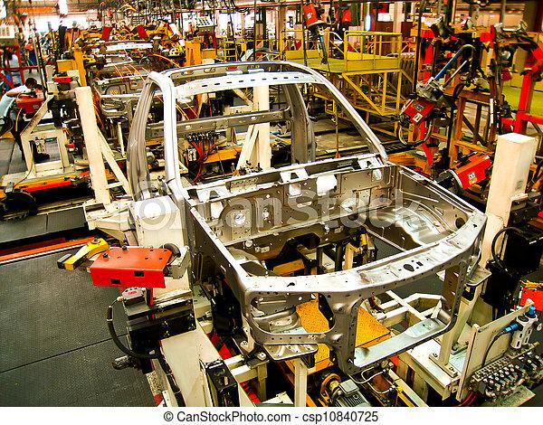 Car welding assembly line - csp10840725