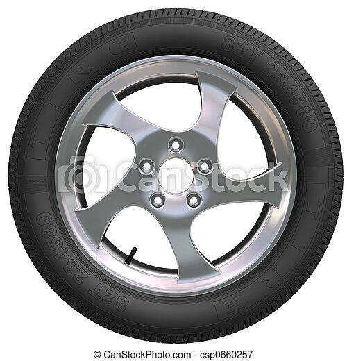 Car Wheel - csp0660257