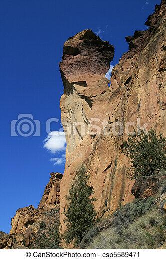 La punta de la roca del mono - csp5589471