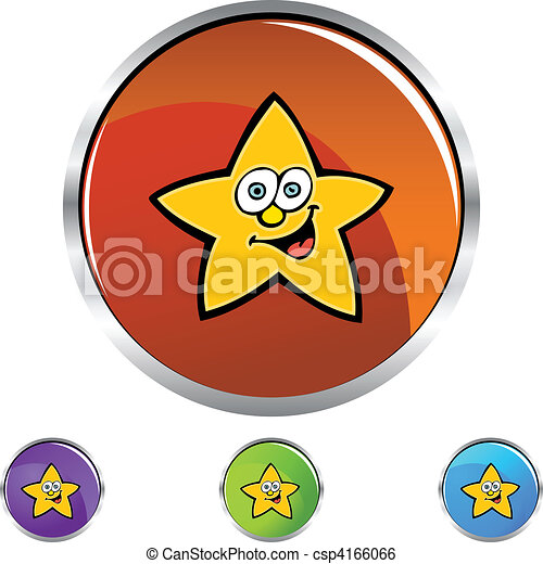 Cara de estrella - csp4166066