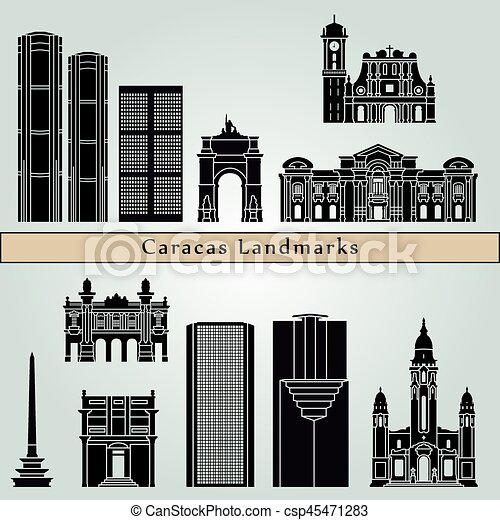 Caracas V2 Landmarks - csp45471283