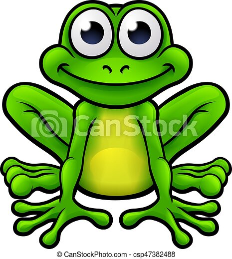 Caract re dessin anim grenouille mignon caract re illustration grenouille dessin anim - Dessin de grenouille marrante ...