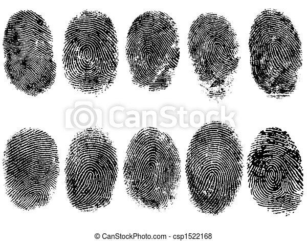 caractères, doigt, 10 - csp1522168