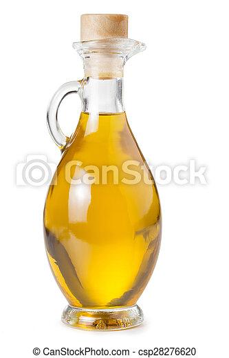 carafe of olive oil - csp28276620