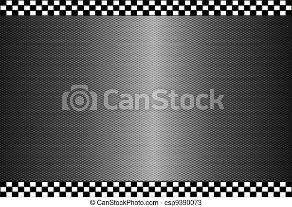 Fondo negro de fibra de carbono - csp9390073