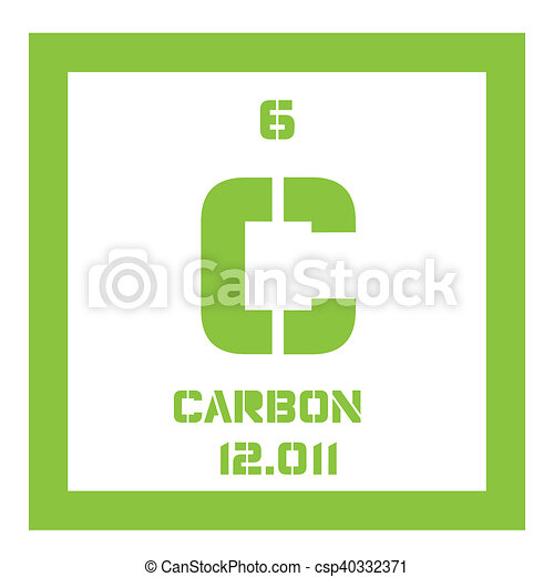 carbon chemical element csp40332371 - Periodic Table Symbol For Graphite