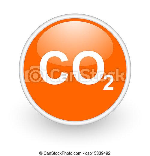 carbon dioxide icon - csp15339492