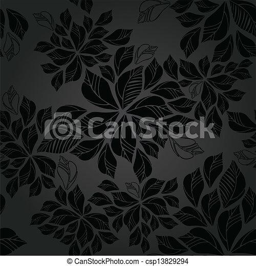 Carbonella foglie carta da parati seamless carbonella for Stock carta da parati