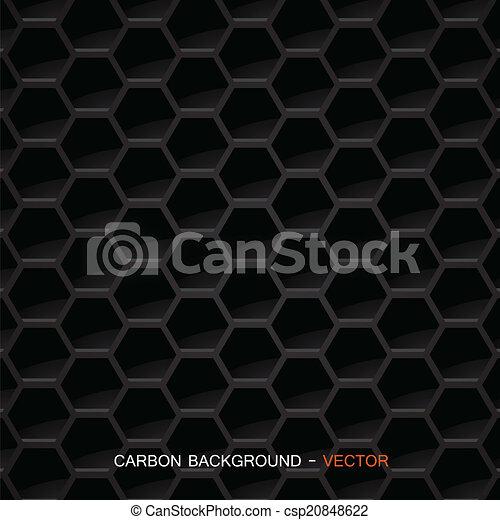 carbono, material, vetorial, -, fibra - csp20848622